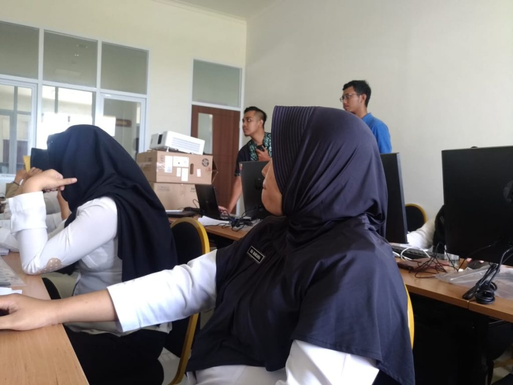 Implementasi di RSUD SLG Kediri